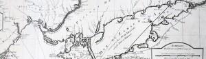 Cartina storica del Mar D'Azov