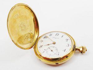 Orologi all'asta - Orologio da tasca marchiato Longines in oro giallo